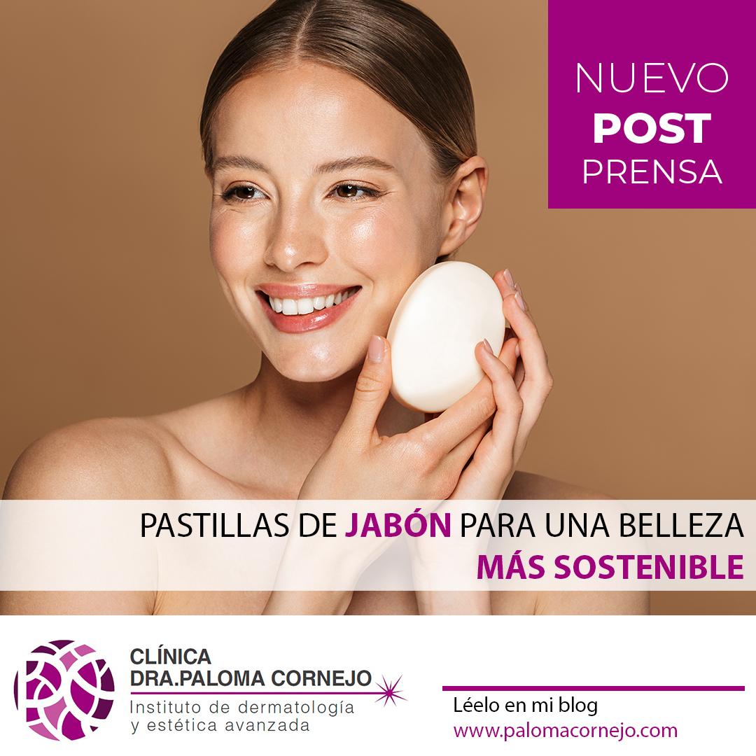 Pastillas de jabón para una belleza más sostenible
