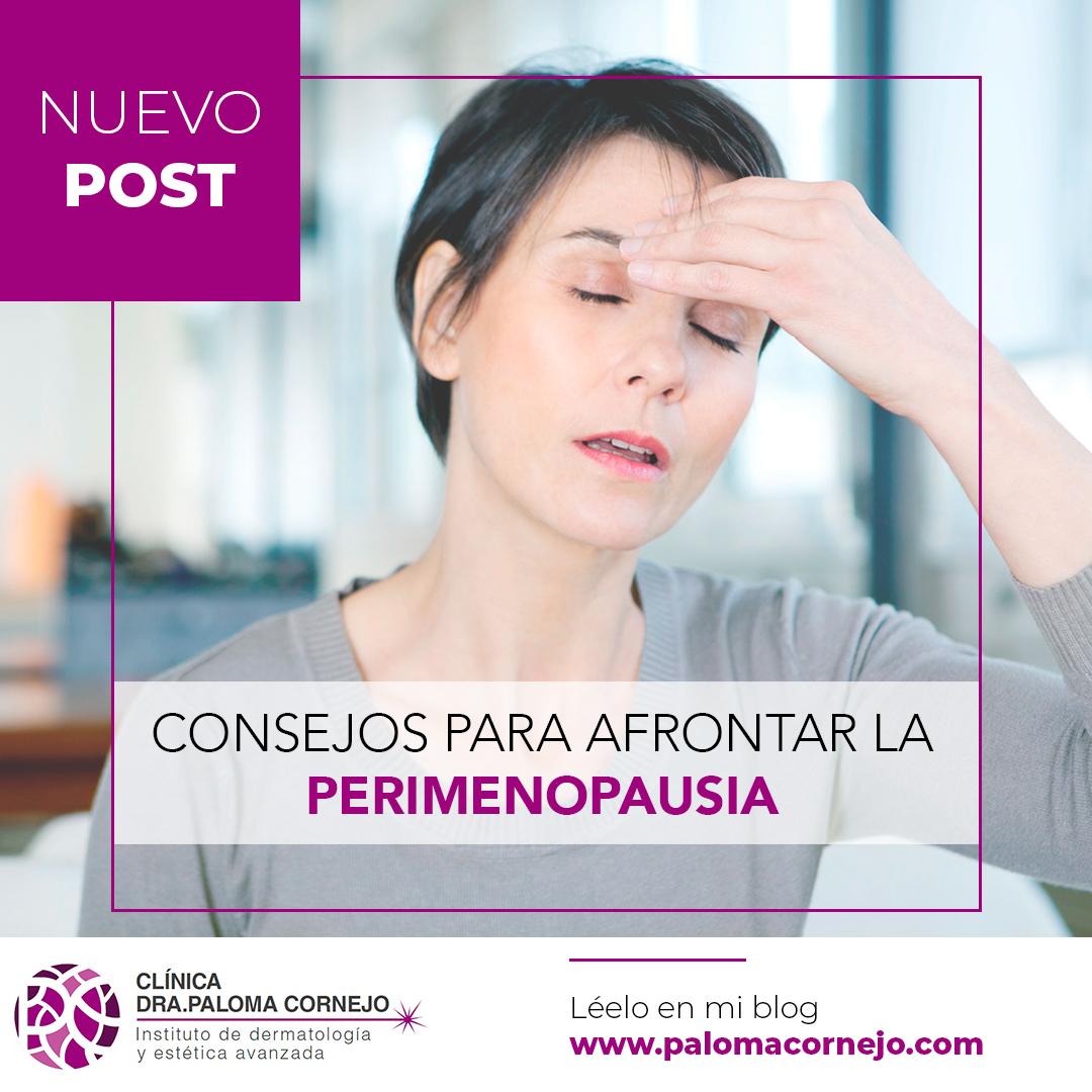 Consejos para afrontar la perimenopausia