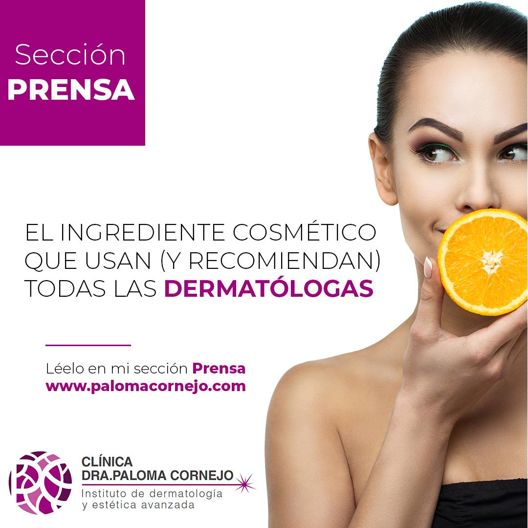 El ingrediente cosmético que usan (y recomiendan) todas las dermatólogas