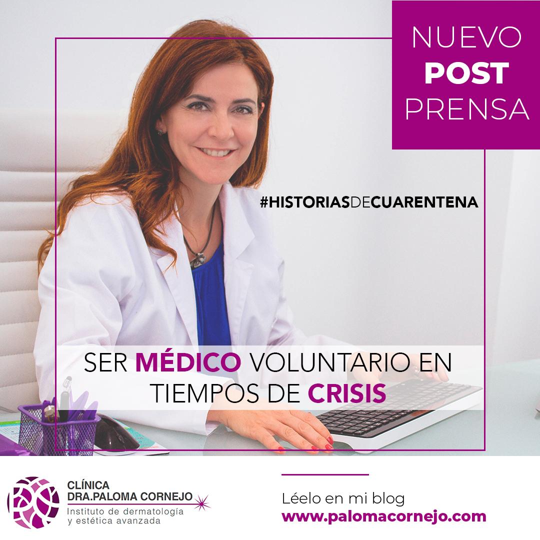 Ser médico voluntario en tiempos de crisis