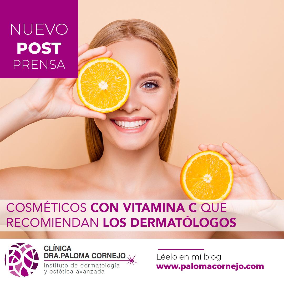 Cosméticos con vitamina C que recomiendan los dermatólogos